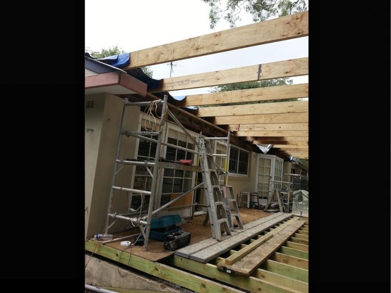 Asnu Build a Back Verandah