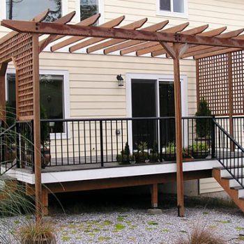 Timber Pergolas and Deck