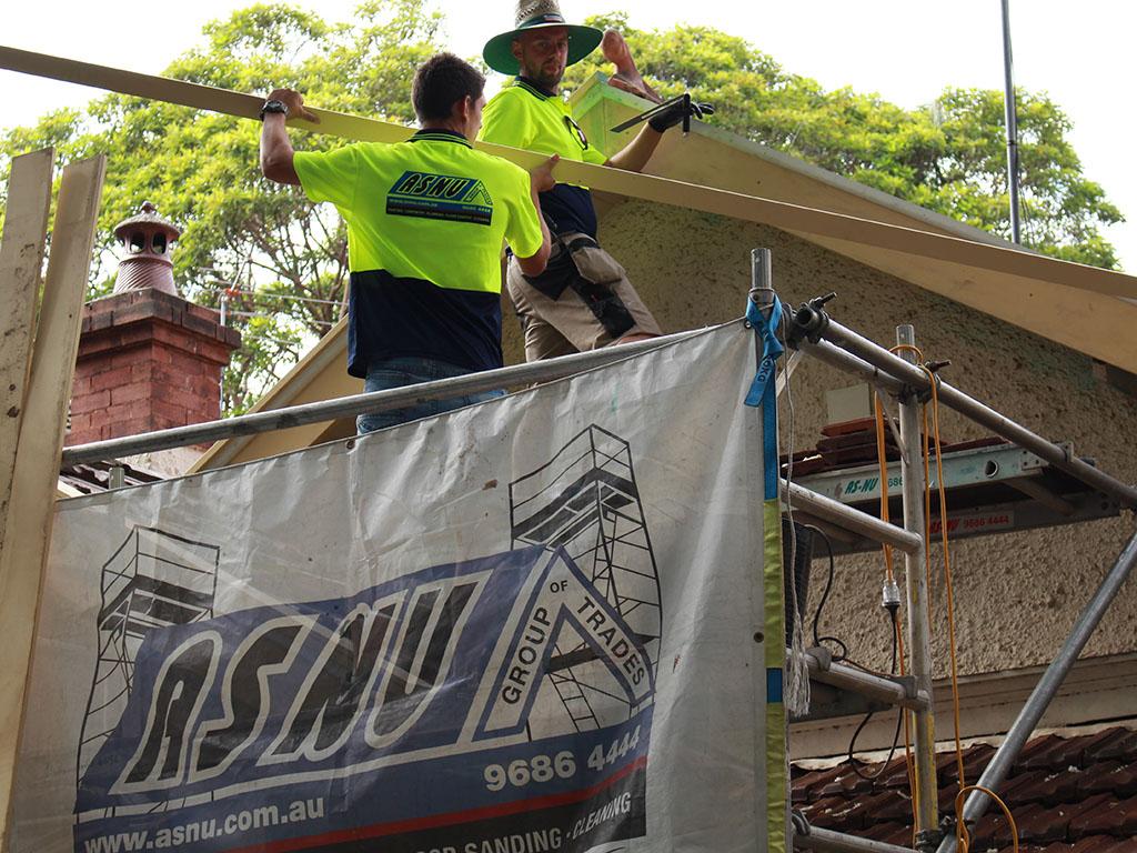 Flashing & Bargeboard Repairs