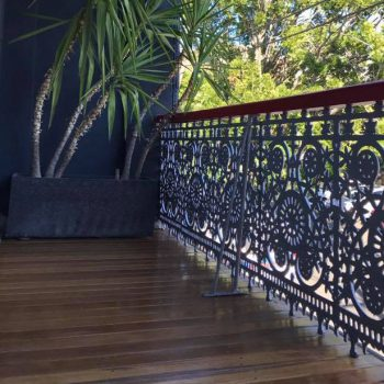 Deck Repaired on Terrace House