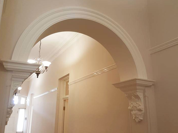 Interior House Painting Hallway Federation House