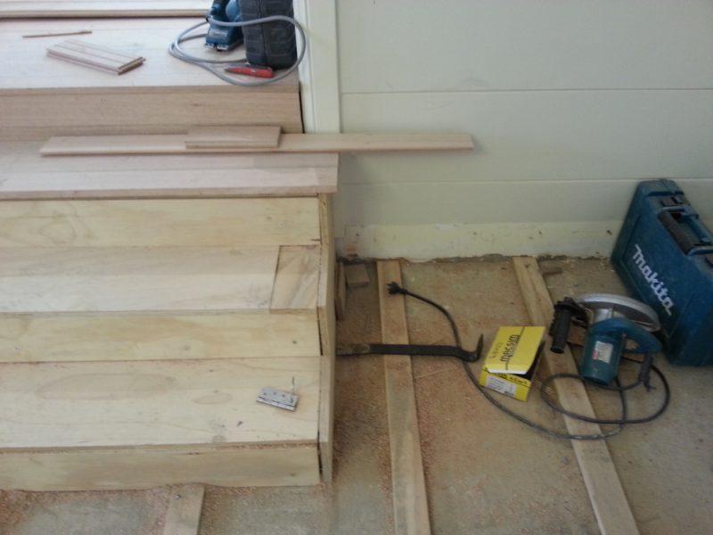 ASNU Carpenters Build New Timber