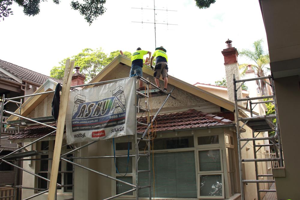 ASNU Builder Repairing Bargeboards