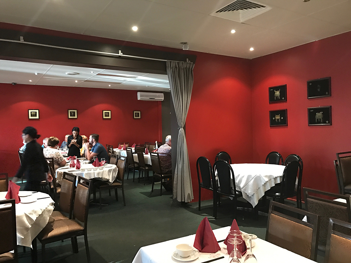 Chinese Resturant Commercial Painting