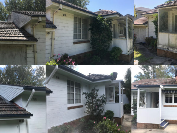Before and After Exterior House Painting