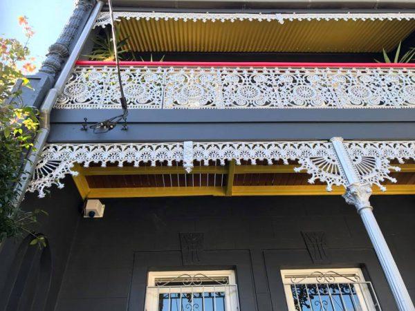 Terrace House Painting Glebe