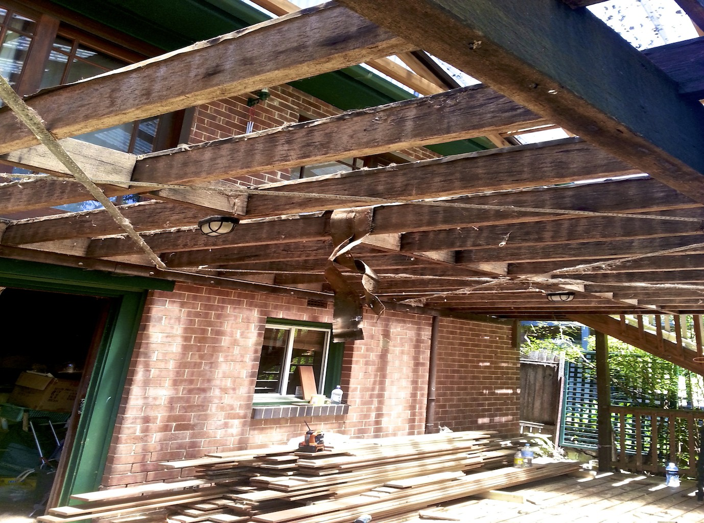 Timber Decking Repairs by ASNU