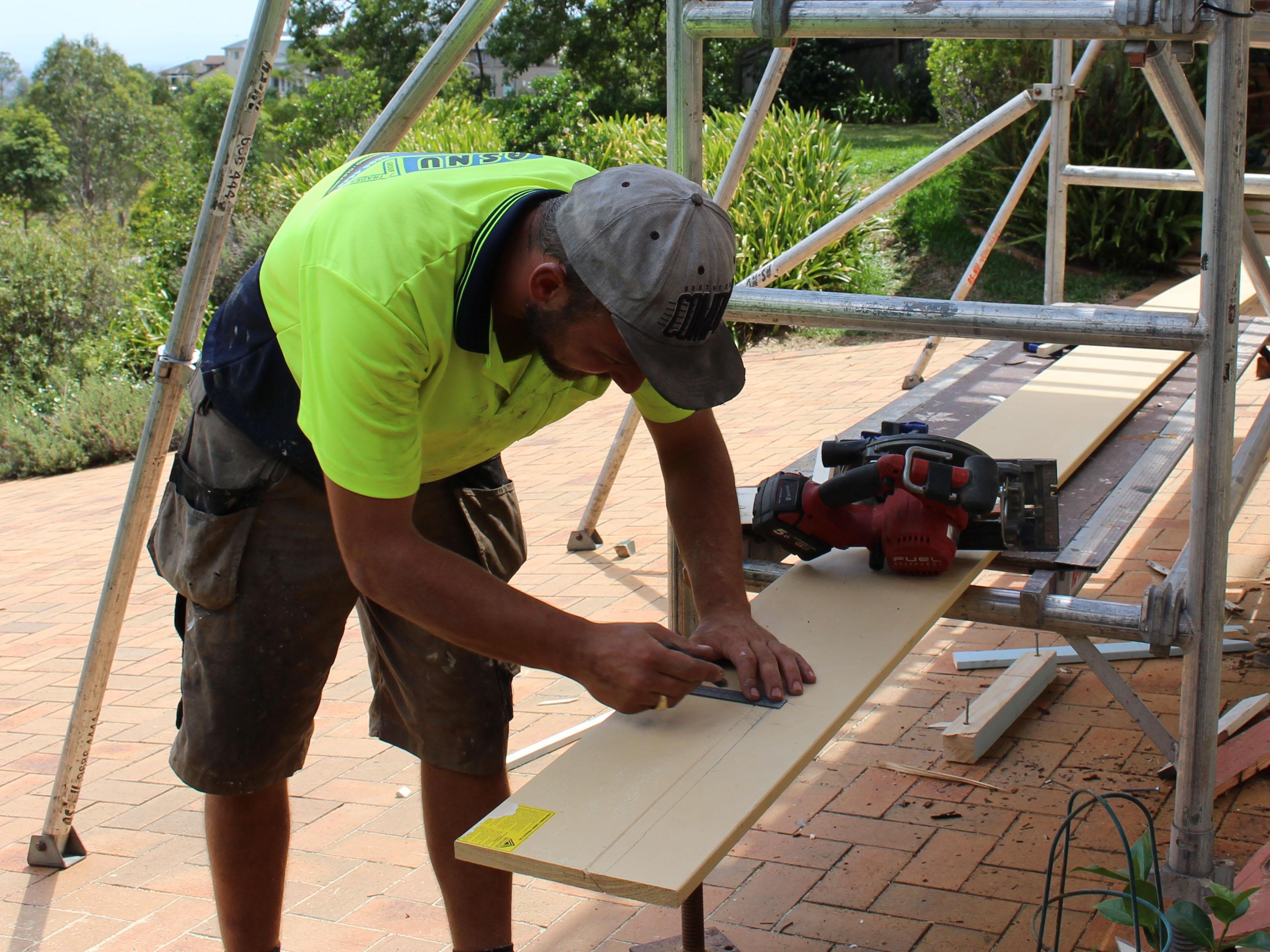 Carpentry Repairing Timber