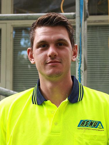 ASNU Apprentice Aaron Cantarella