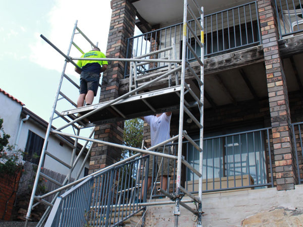 scaffolding for our clients