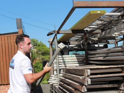 ASNU Licensed Scaffolding Company - Scaffolding Truck