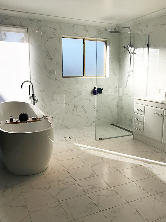 Big Bathroom Renovation by ASNU