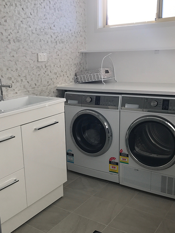 Laundry Bathroom Renovations by ASNU