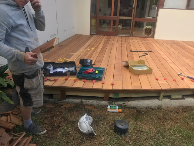 Timber Deck Repairs