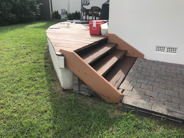 Timber Deck in Need of Repair Sydney