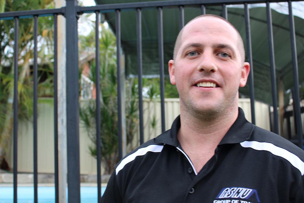 ASNU Licensed Scaffolder Dwayne Phair