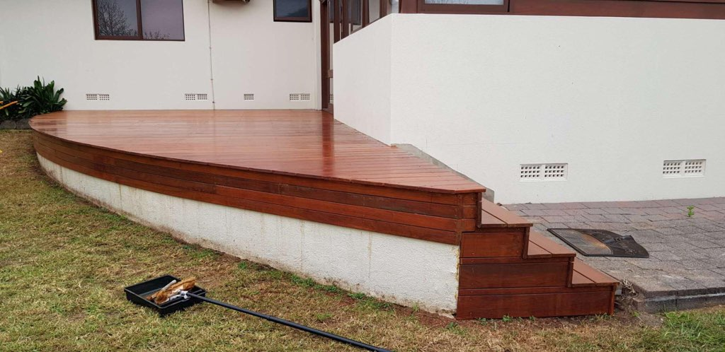 Timber Deck Repaired
