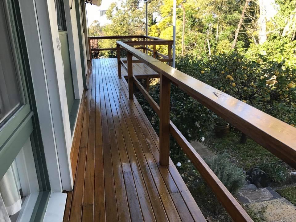 Deck Oiled Sydney