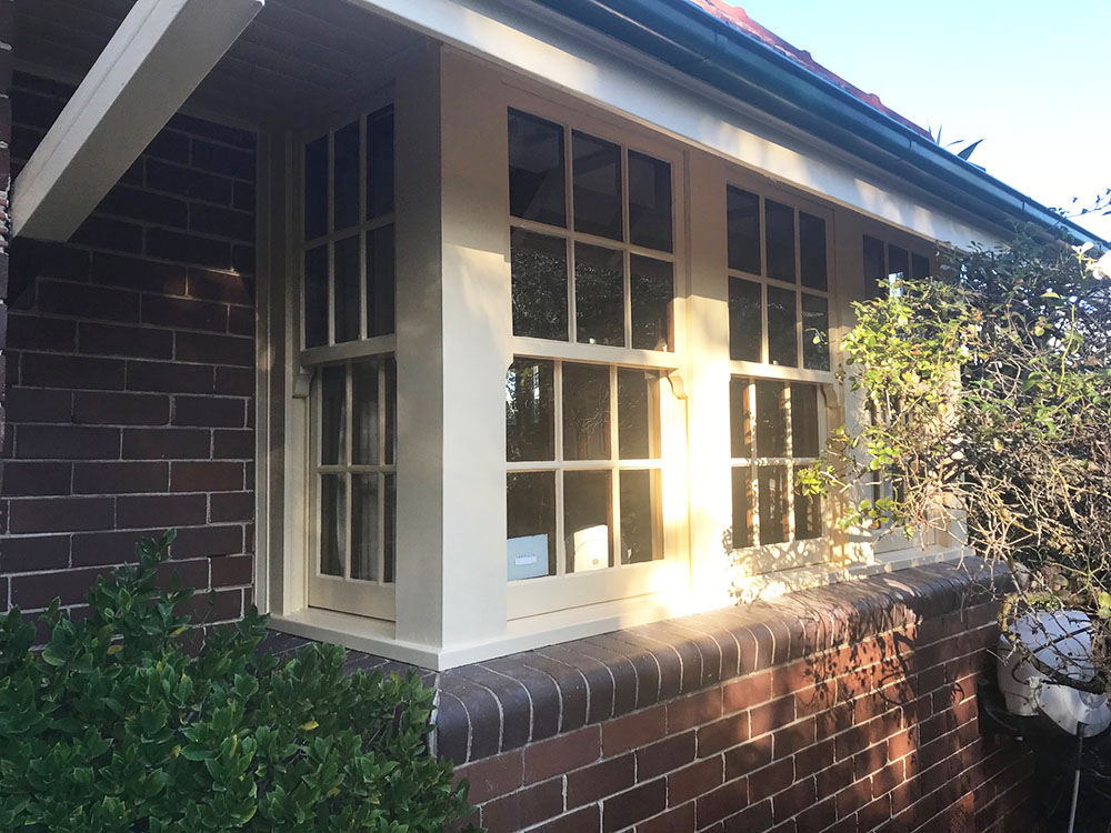 Timber Windows Painted Sydney