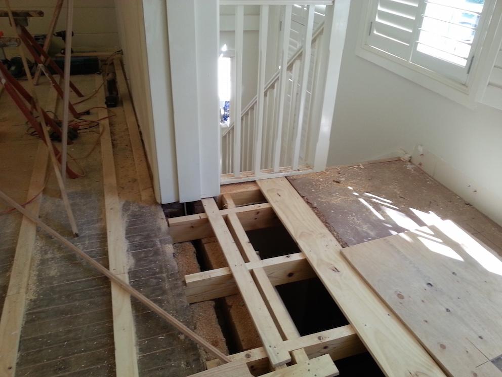 New Floorboard Carpentry