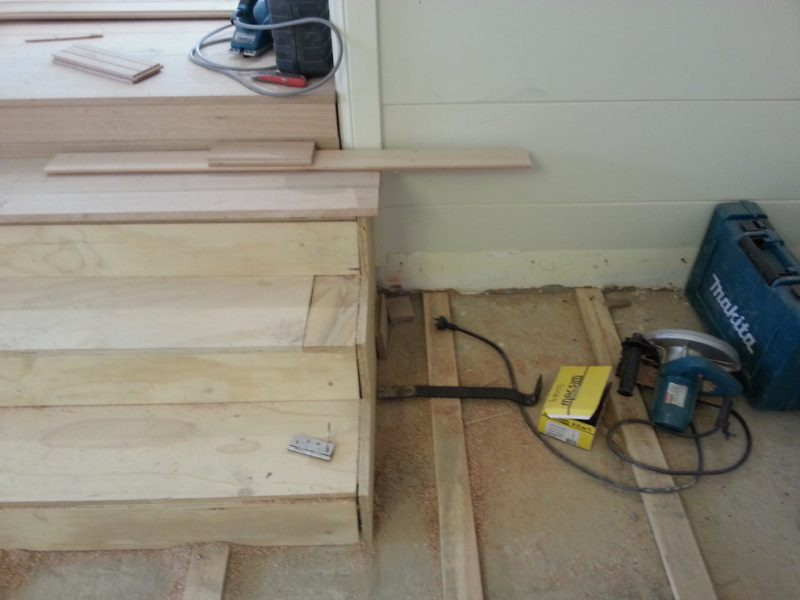 ASNU Carpenters Build New Timber
