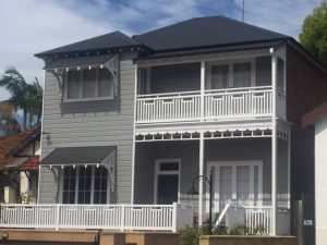 Exterior House Sydney Painting by ASNU