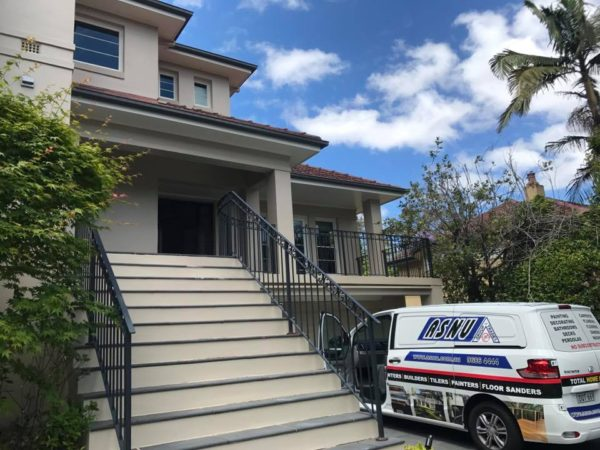 House Painted by ASNU Wahroonga Sydney