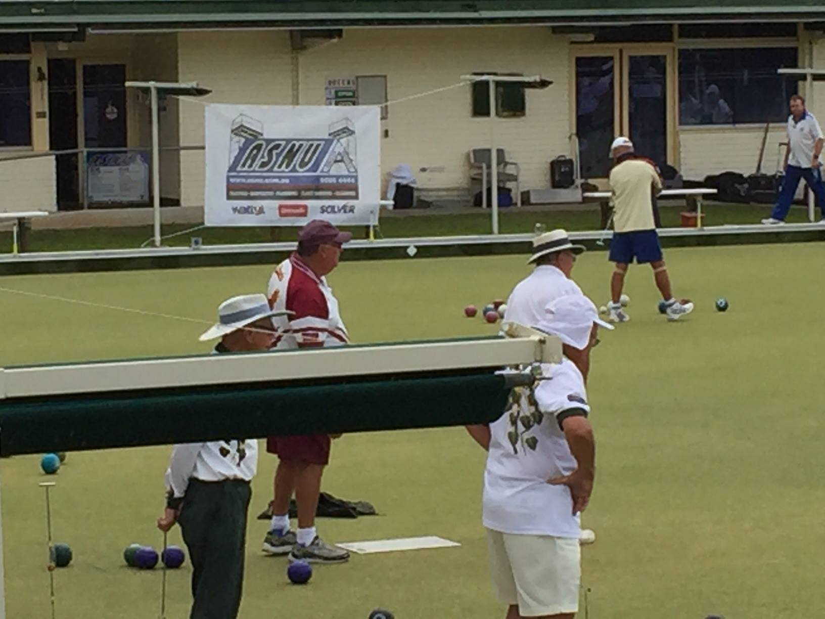 ASNU Painted and Sponsored ST Ives Bowling Club