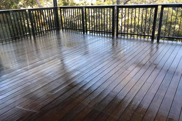 Timber Deck Stained ASNU Sydney 1