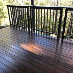 Stained Timber Deck
