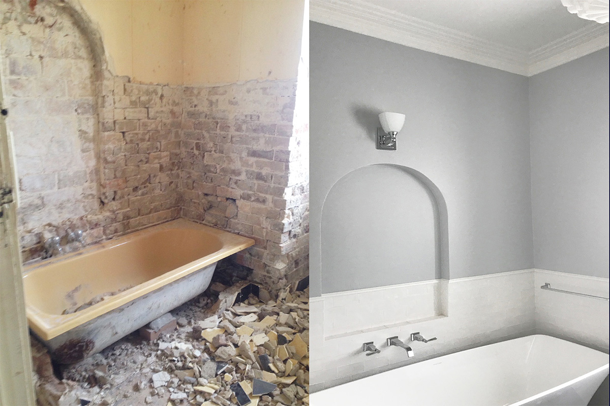 Before and After Bathroom Renovation Sydney