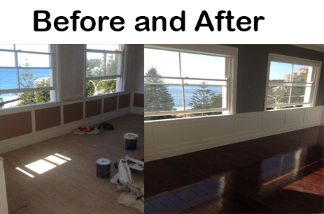 Before and After Interior Painting Coogee NSW