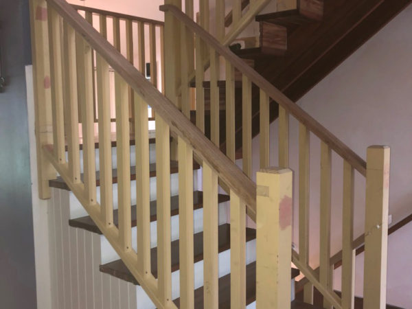 Replaced Timber Stairs