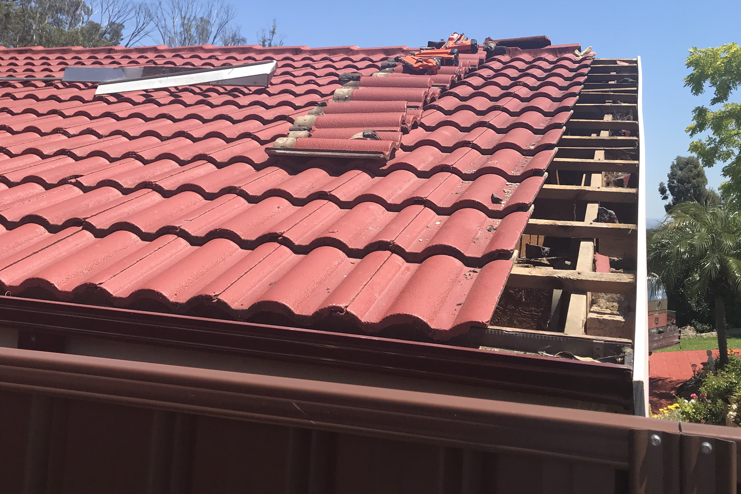 Roof Flashing Replacement