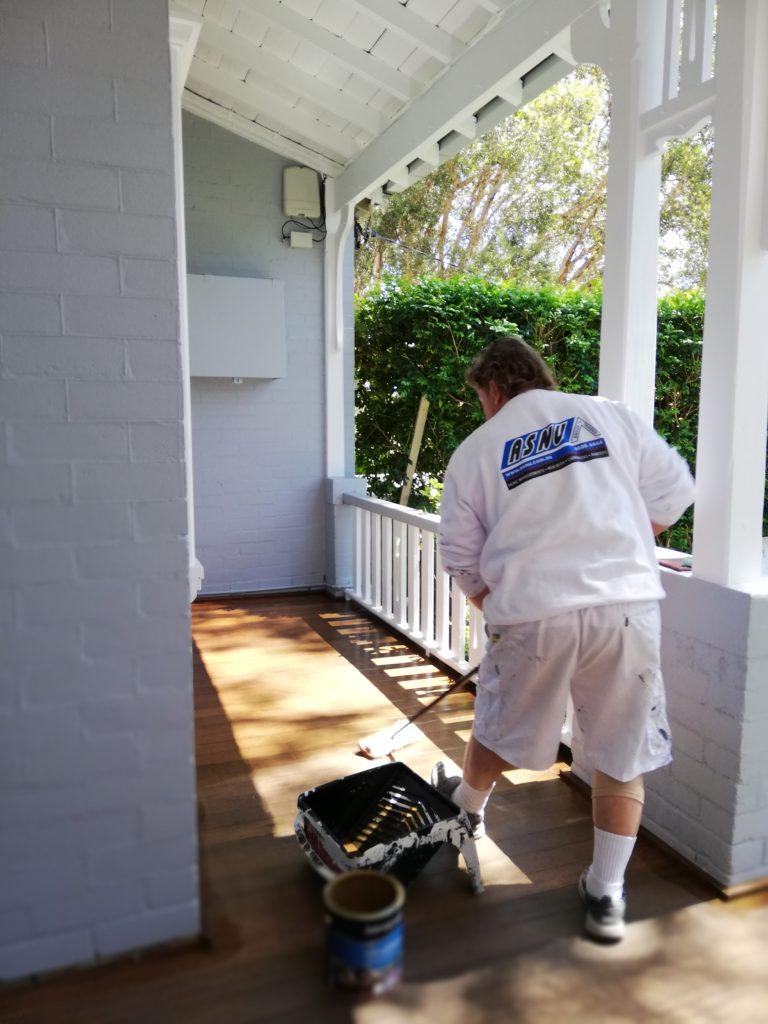 deck oiling Cremorne