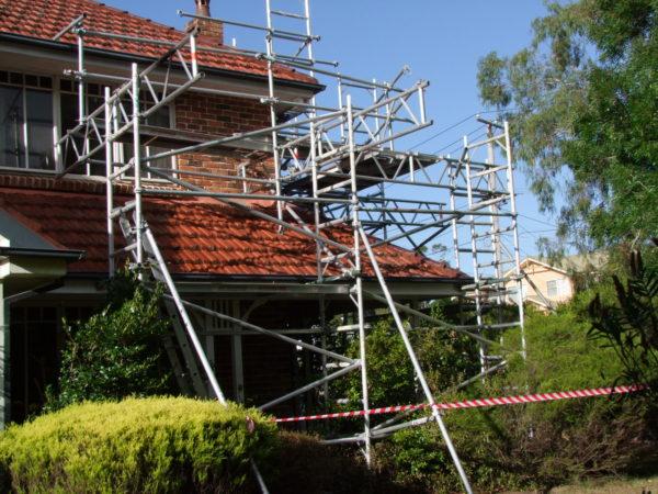 Scaffolding House Sydney