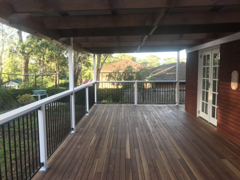 Winston Hills Carpentry Pergola After 2